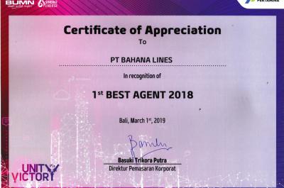 Pertamina - Best Agent 2018