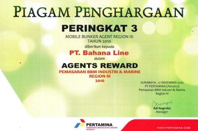 Pertamina - Mobile Bunker Agent Region III 2010