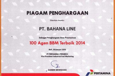 Pertamina - 100 Agen BBM Terbaik 2014